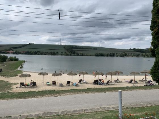 kunovská priehrada senica emamamamu pláž