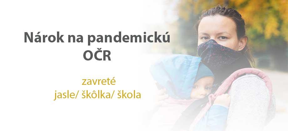 pandemická očr ošetrovné emamamamu